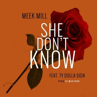 Meek Mill - She Don't Know Ft Ty Dolla $ign | In Ya Ear ...