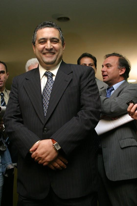 O ex-deputado José Janene, em foto de 2006 (Foto: Glaucio Dettmar / Editora Globo)
