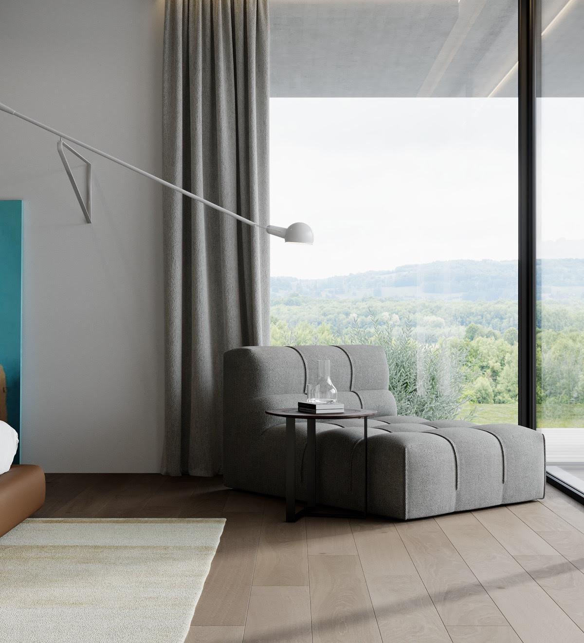 Decoration Maison Moderne Haut De Gamme Avec Cour Et