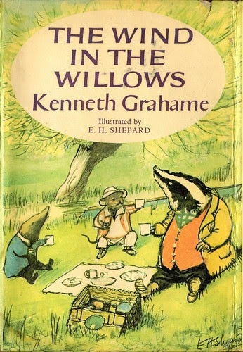 The Wind in the Willows (dust jacket)