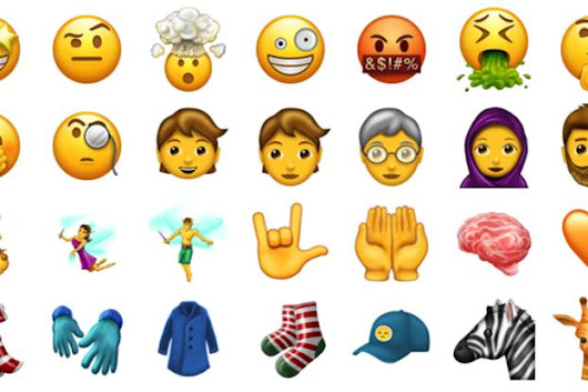 All the new emoji to expect in 2017 – from T-rex to exploding heads, breastfeeding and beards