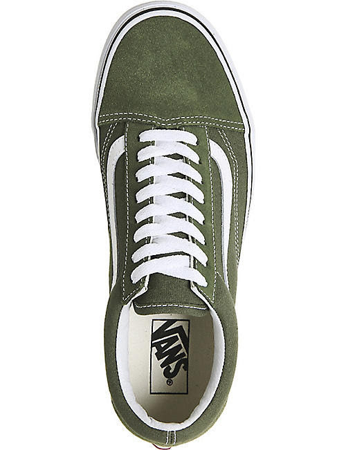VANS Old Skool low-top suede trainers