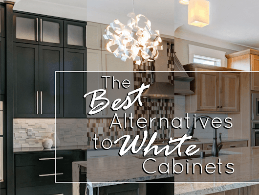 Best Alternatives to White Cabinets | Prodigy Homes, Inc.