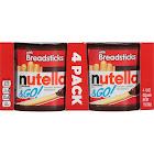 Nutella & Go! Hazelnut Spread with Breadsticks - 4 pack, 1.8 oz each