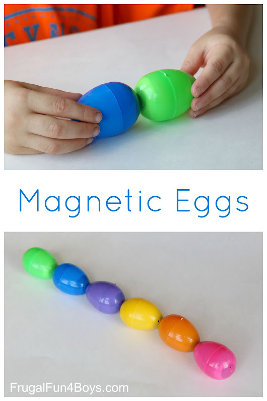 DIY Toy: Magnetic Eggs - Frugal Fun For Boys and Girls