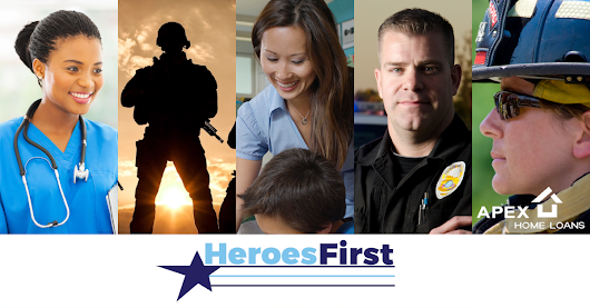 Heroes First - Discounts for Those Who Serve | Apex Home Loans, Inc.