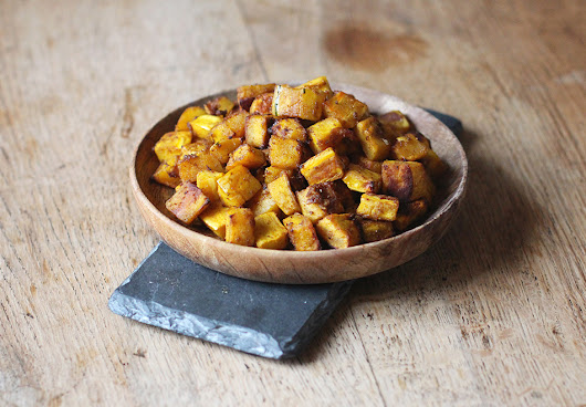 roasted butternut squash - Harriet Emily