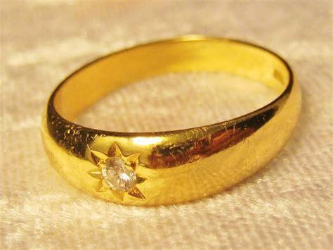 Antique 18ct Gold Mens & Ladies Wedding Rings