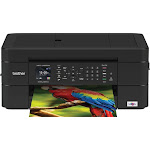 Brother - Work Smart Series MFC-J497DW Wireless All-In-One Inkjet Printer - Black