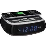 SXE Sxe87001 Wireless Charging Alarm Clock