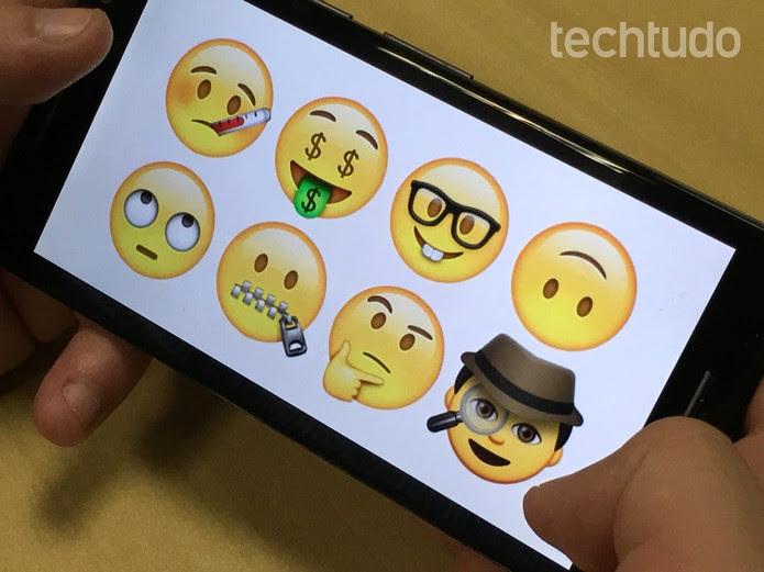 WhatsApp ganha novos emojis no Android (Foto: Luana Marfim/TechTudo)
