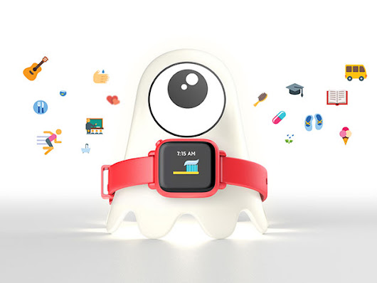 The Watch-Sized Wearable Training Wheels for Teaching Children Good Habits