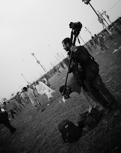 The Lucky Ones Shooting The Shahi Snan Maha Kumbh by firoze shakir photographerno1