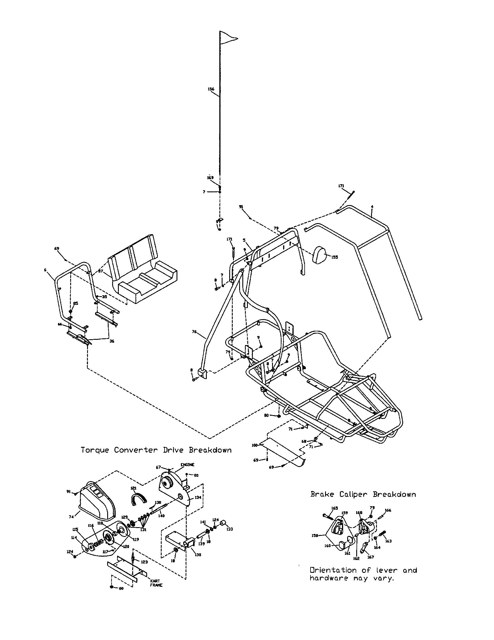 35 Manco Go Kart Parts Diagram