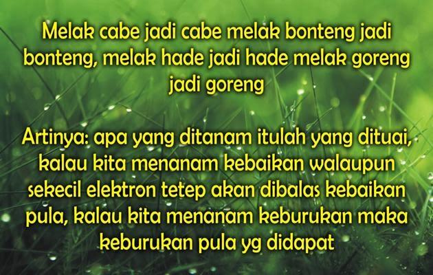 Kata Kata Sindiran Bahasa Sunda Dan Artinya