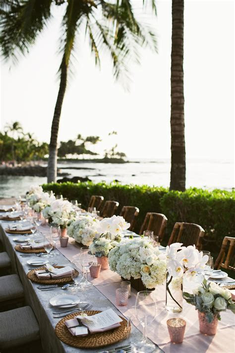 Fairmont Orchid Big Island Wedding ~ Vintage & Lace