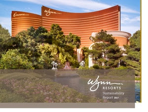 Wynn Resorts Issues 2017 Global Sustainability Report Press