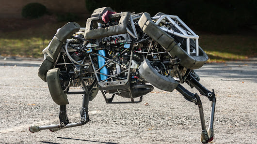 Google Adds to Its Menagerie of Robots