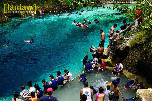 Enchanted River Crowd