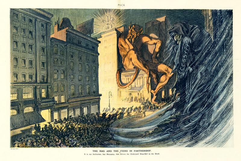 Udo J. Keppler - Illustration in Puck, v. 72, no. 1867 (1912 December 11), centerfold