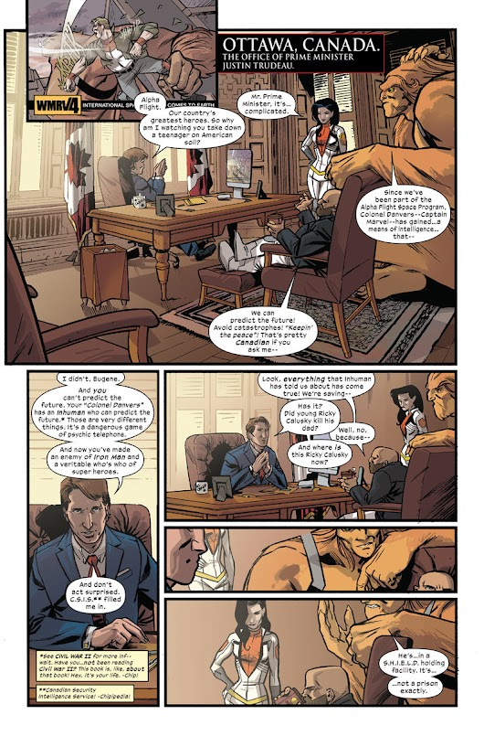 Can A Canadian Prime Minister Be An Action Hero? Marvel Comics Thinks So