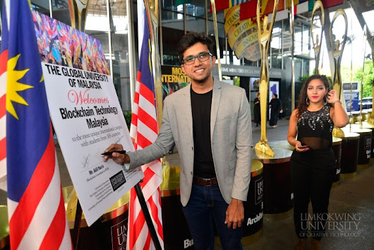 'Why Blockchain Matters': Industry Talk with Adil Haris of Blockchain Technology @ Limkokwing University of Creative Technology