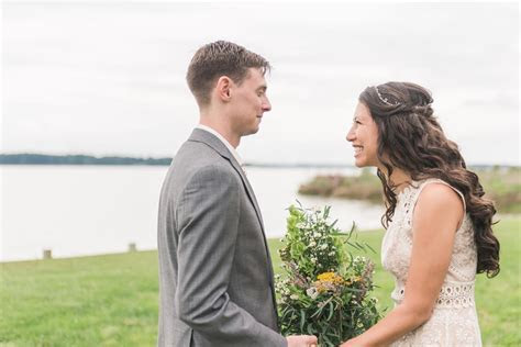 Boho Romantic Waterside Wedding   United With Love