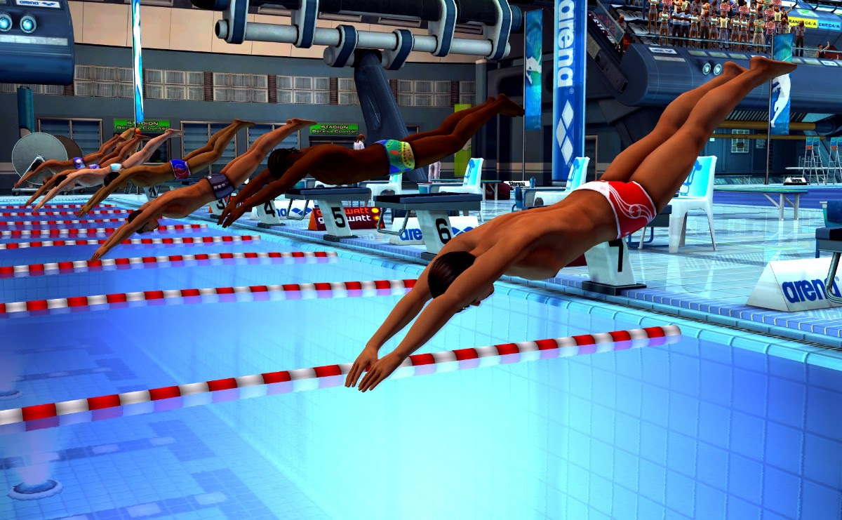 Screenshot of Summer Athletics 2009 (PC)