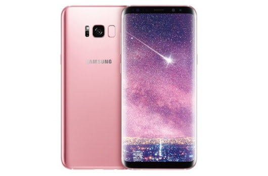 Hey Look, Samsung Made a Rose Pink Color Galaxy S8+ – Getting Geek