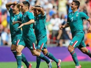 Φωτογραφία για Στο Μεξικό το χρυσό, 2-1 τη Βραζιλία