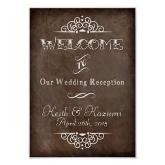 Wedding Chalkboard(A4) Value Poster Paper (Matte)