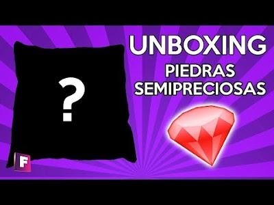 Unboxing de piedras semipreciosas #1 ¿Qué Gemas Encontraremos?