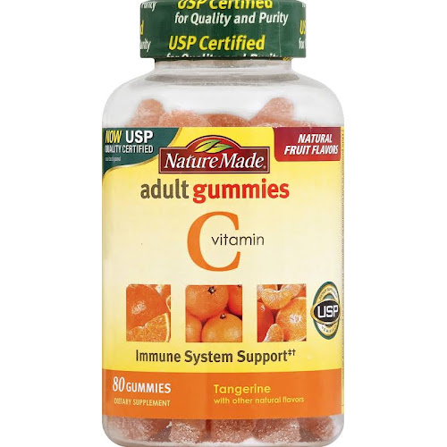 Nature Made Vitamin C Adult Orange Gummies - 80 count
