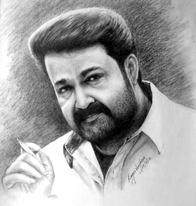 Mohanlal Pencil Drawing Hd Images - pencildrawing2019