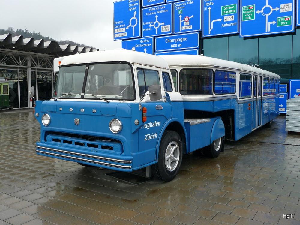 1968 Ford C 700 ausgestellt