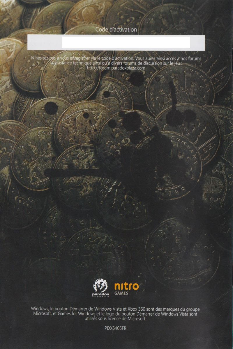 East India Company 2009 Windows Box Cover Art Mobygames