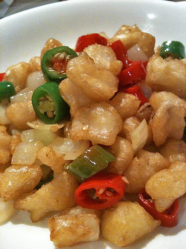Special flavour chicken gristle
