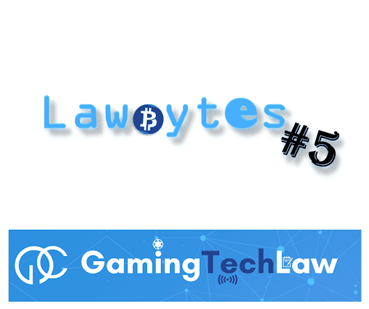 LawBytes #5 - EU-Japan data deal, promotions FAQs and Youtube copyright tool