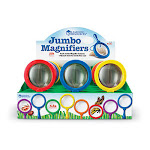 Learning Resources Ler2775 Jumbo Magnifier Countertop 12- Set