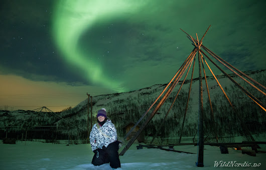 An Aurora Chase in Tromso - Sometimes with Rene