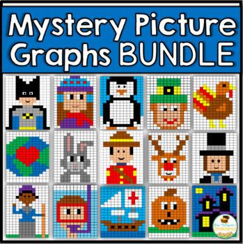 Mystery Picture Graphs Mega Pack Bundle