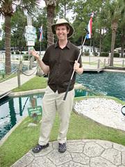Pete at Gilligan's Island golf