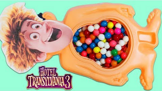 Hotel Transylvania 3 Jonathan Has Surprise Toys In His Gumball Belly