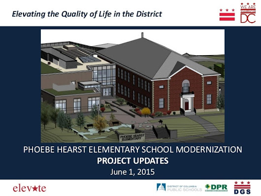 Hearst School Modernization Project Updates - June 1, 2015