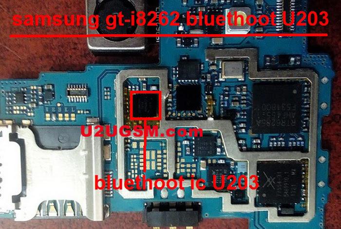 Samsung Galaxy Core I8262 Bluetooth IC Not working problem solution