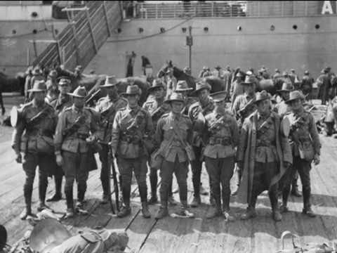 """Australia Will Be There"" World War I Patriotic Song - Skipper Francis 1914/15 (Video)"
