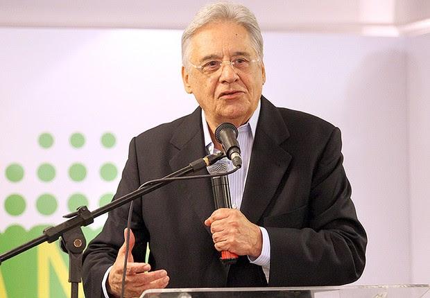 O ex-presidente Fernando Henrique Cardoso (FHC), do PSDB (Foto: George Gianni)