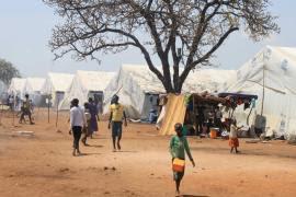 Camps de refugiats de Nyumanzi.