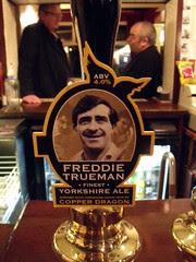 52 beers 3 - 28, Copper Dragon, Freddie Trueman, England