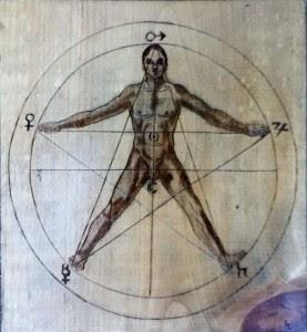 Σύμβολο της μικροκοσμικής συνοχής, η Πεντάλφα χρησιμοποιείται για την προστασία του χώρου. Ο μάγος θα χαράξει αστρικά το σύμβολο στα τέσσερα σημεία του ορίζοντα, οριοθετώντας έτσι έναν καθαγιασμένο, κενό χώρο, μέσα στον οποίο θα τελέσει την εργασία του.